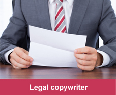 Legal copywriter