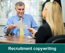 Recruitment copywriting