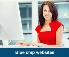 Website copywriting blue chip