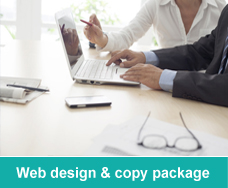 Website design content offer