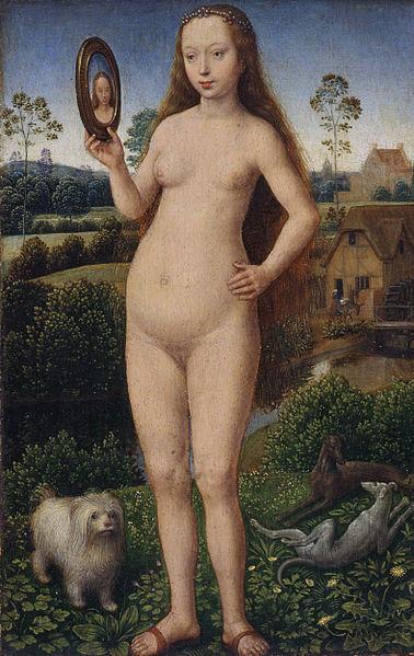 Vanité by Hans Memling, circa 1490