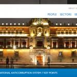 DLA Piper web page