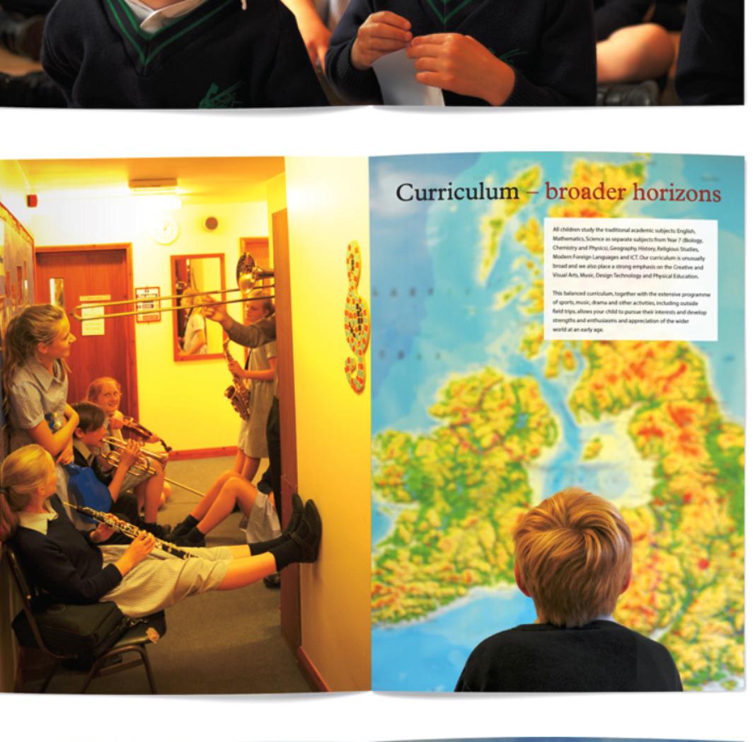 Greshams brochure writing