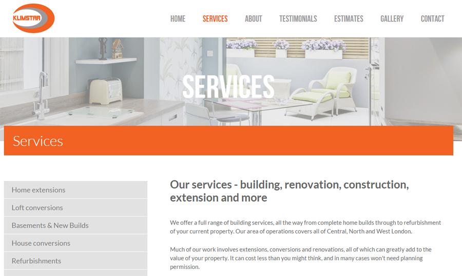 Klimstar website