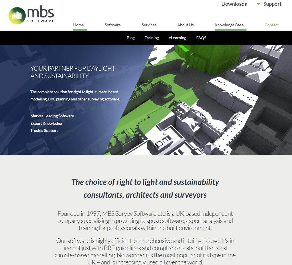 MBS software - web copy