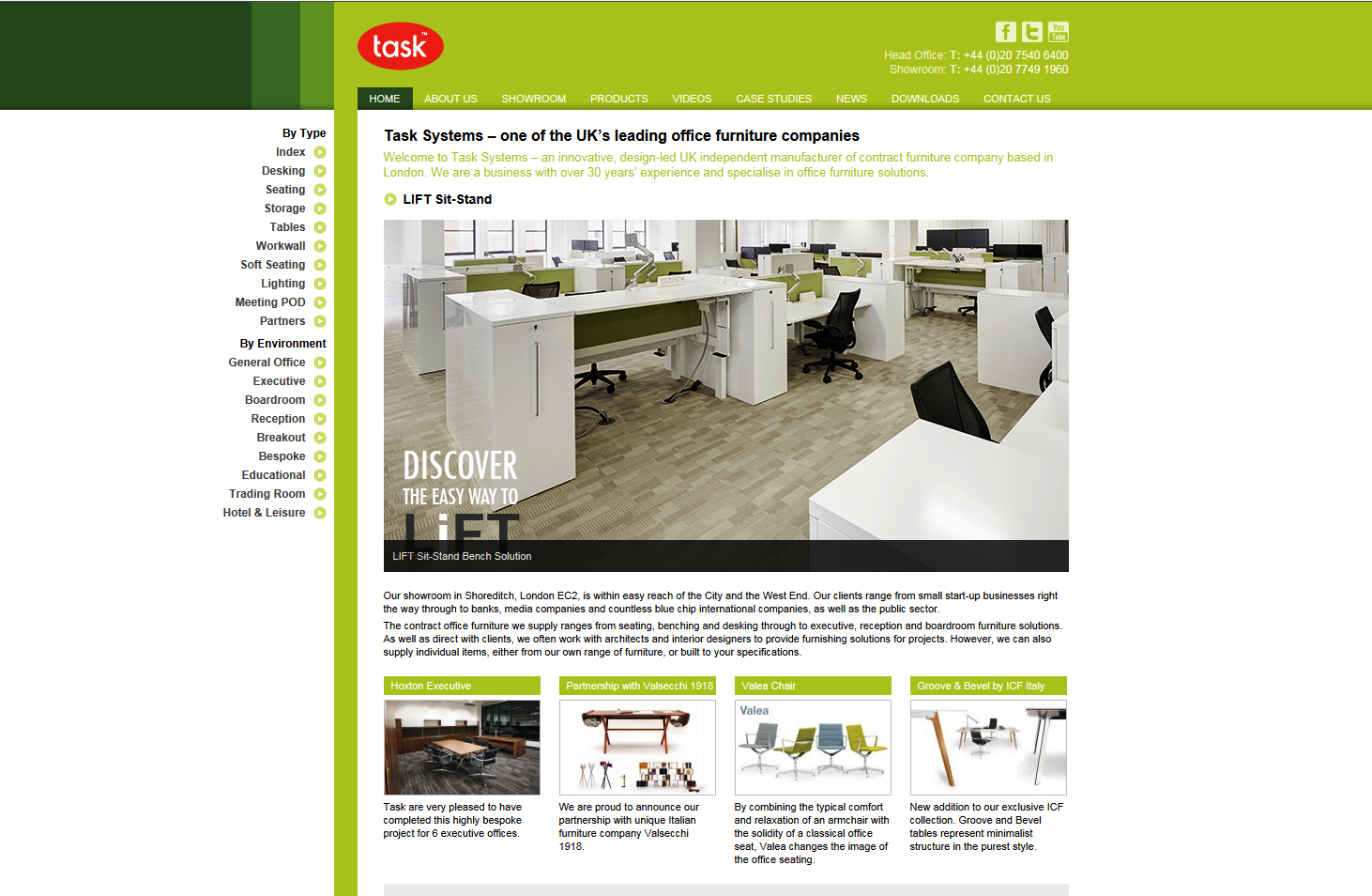 Task Systems web page