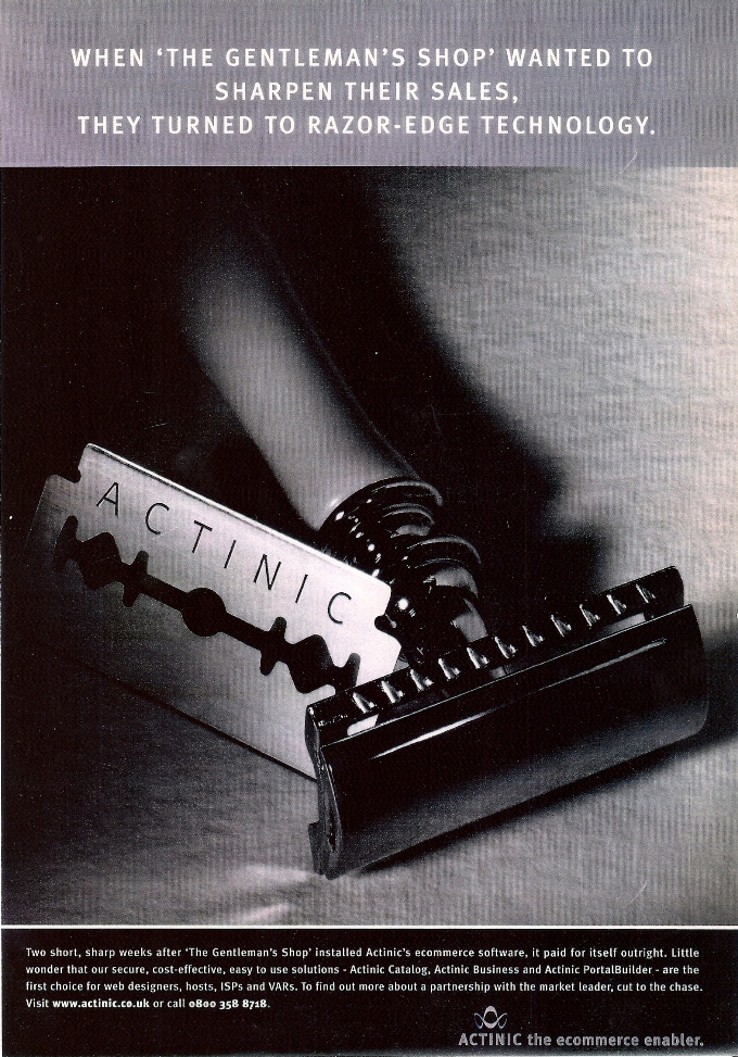 Actinic press ad