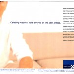 Celebrity Cruises press ad
