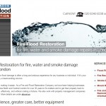 Website copy for Fire Flood Restoration