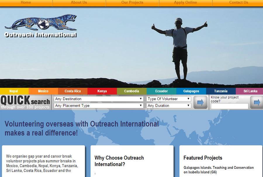 Outreach International website