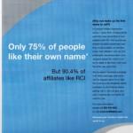 RCI Affiliates press ad