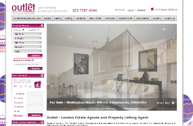 Copywriting and SEO case study for Outlet Property London How copywriting for Outlet Property Agents made a massive difference to web traffic and converting customers......