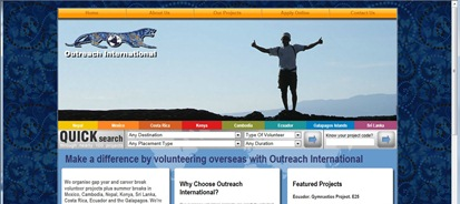 Website copywriting and marketing case study for Outreach International – Marketing assistance and copywriting for an overseas volunteering organisation…