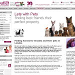 Outlet Property web page