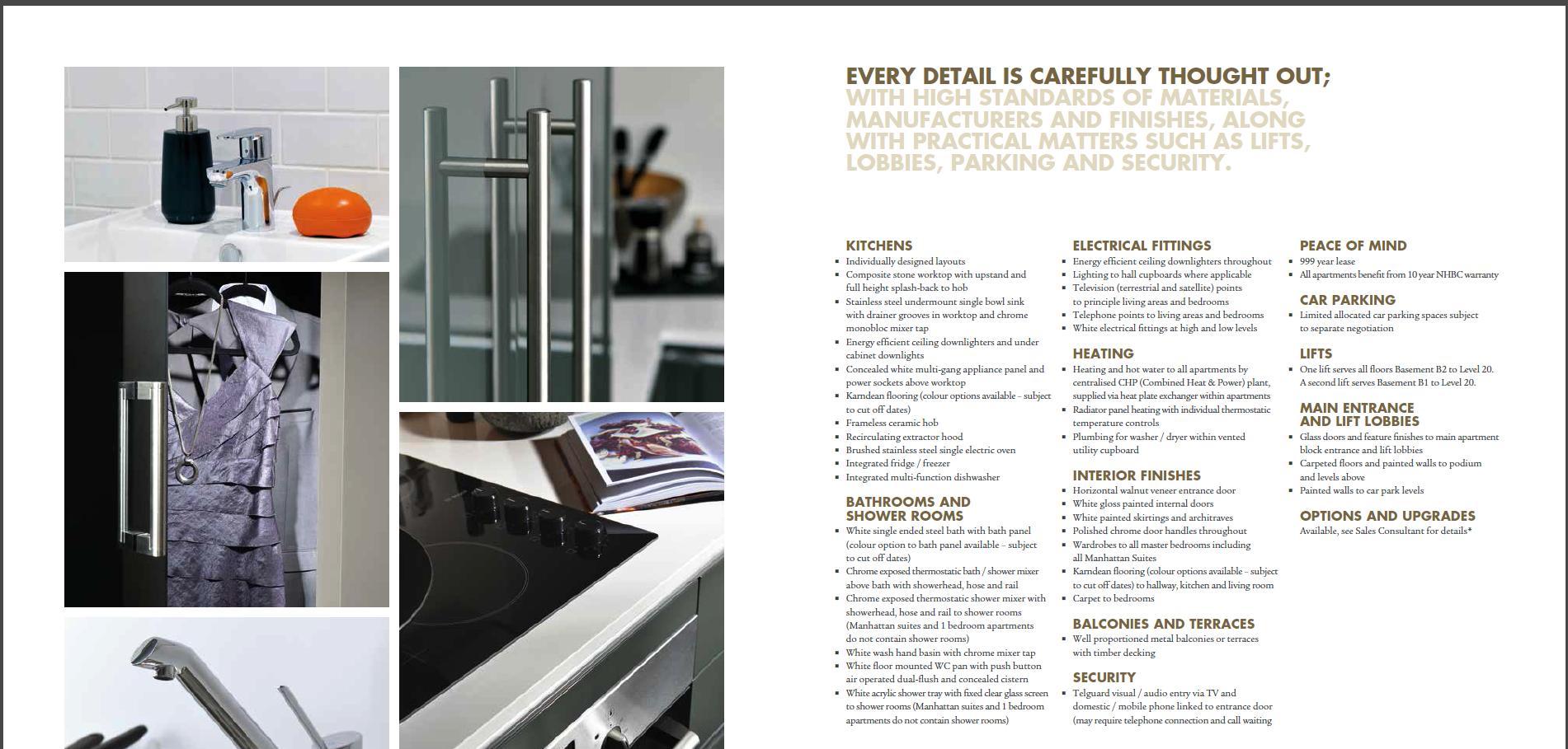 RAR property sales brochure