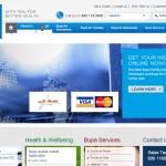 BUPA Arabia website