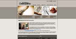 Butterfiled Osteopathy websitee
