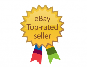 eBay top rated seller logo