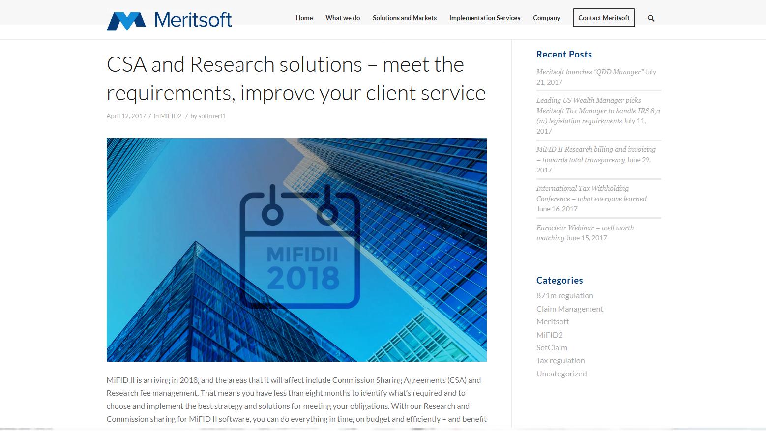 Meritsoft financial software - blogpost 2
