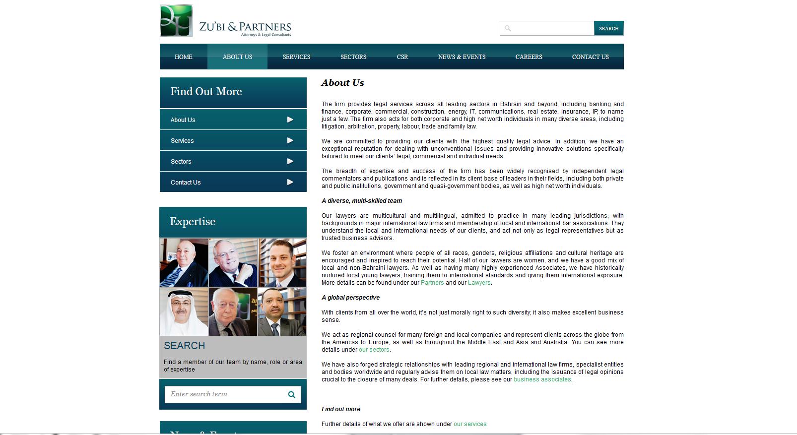 Law firm website copy III