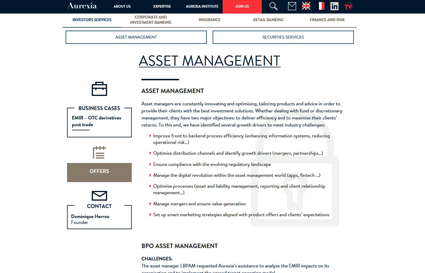 Aurexia website