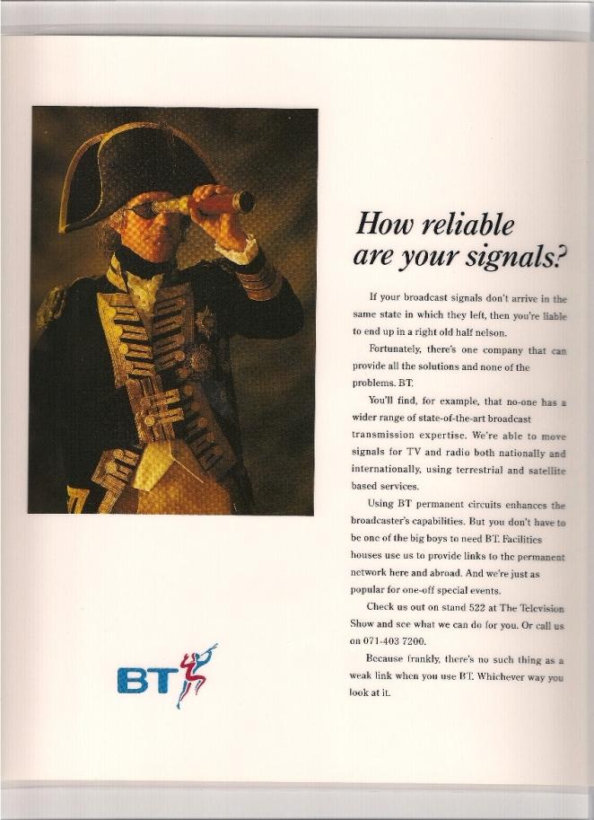 BT business advert