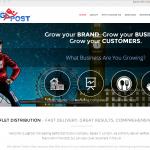 Jogpost website page
