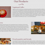 Laissez Faire Café Website