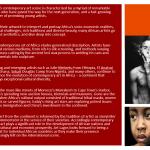 Art Lagos brochure page