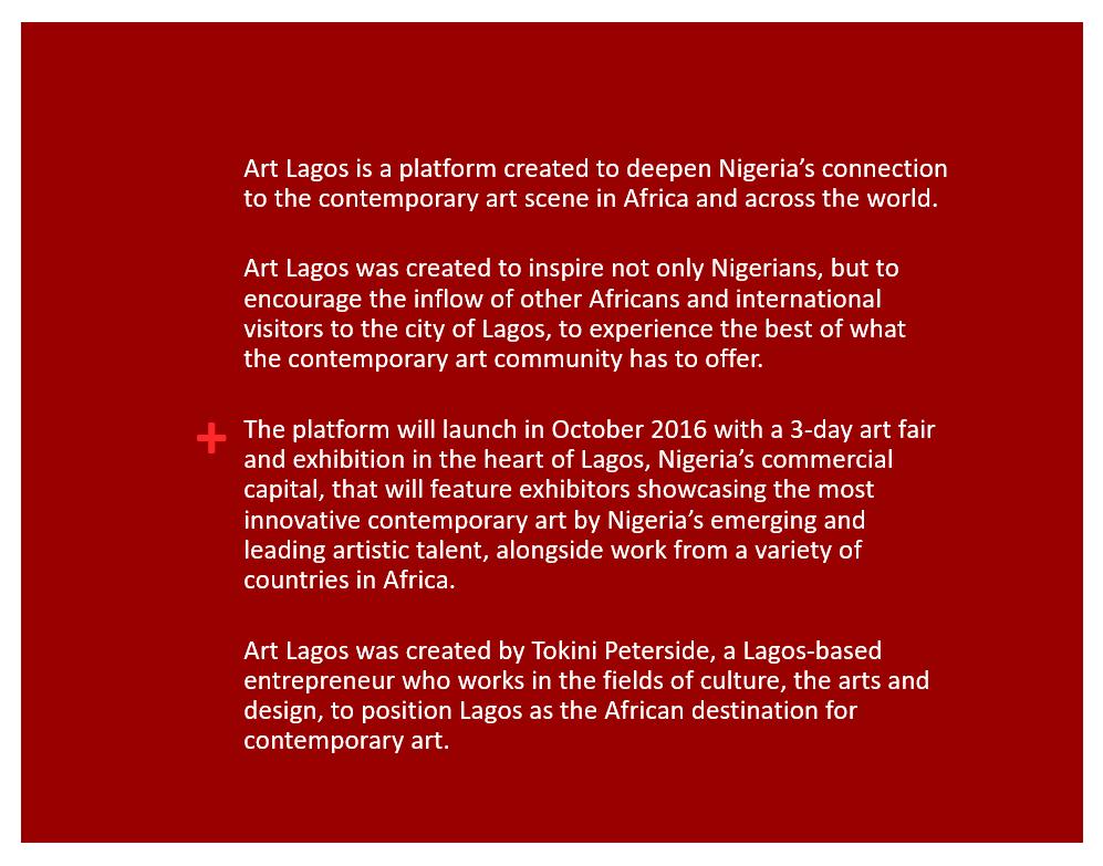 Art Lagos brochure