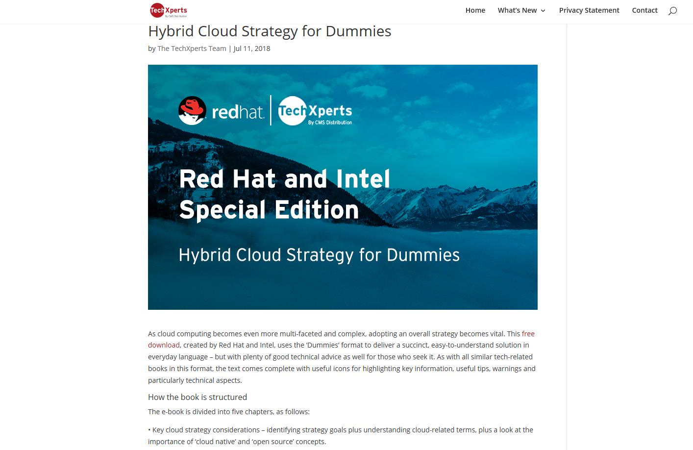 Cloud computing article