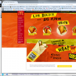 McDonalds web promotion page