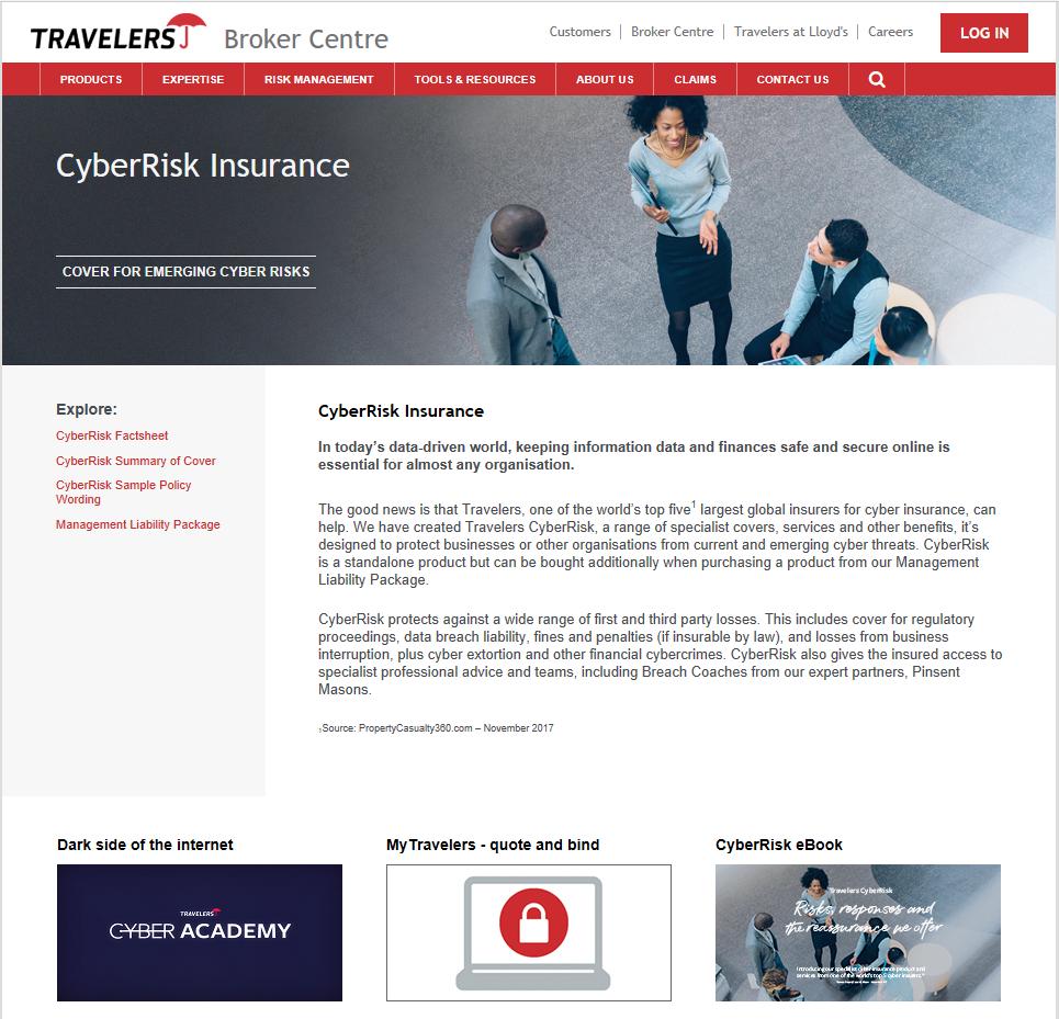 Cyber insurance brochure