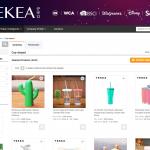 Yekea website page