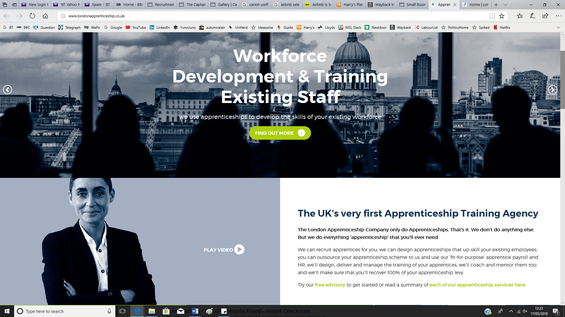 London Apprenticeship Company - web copy