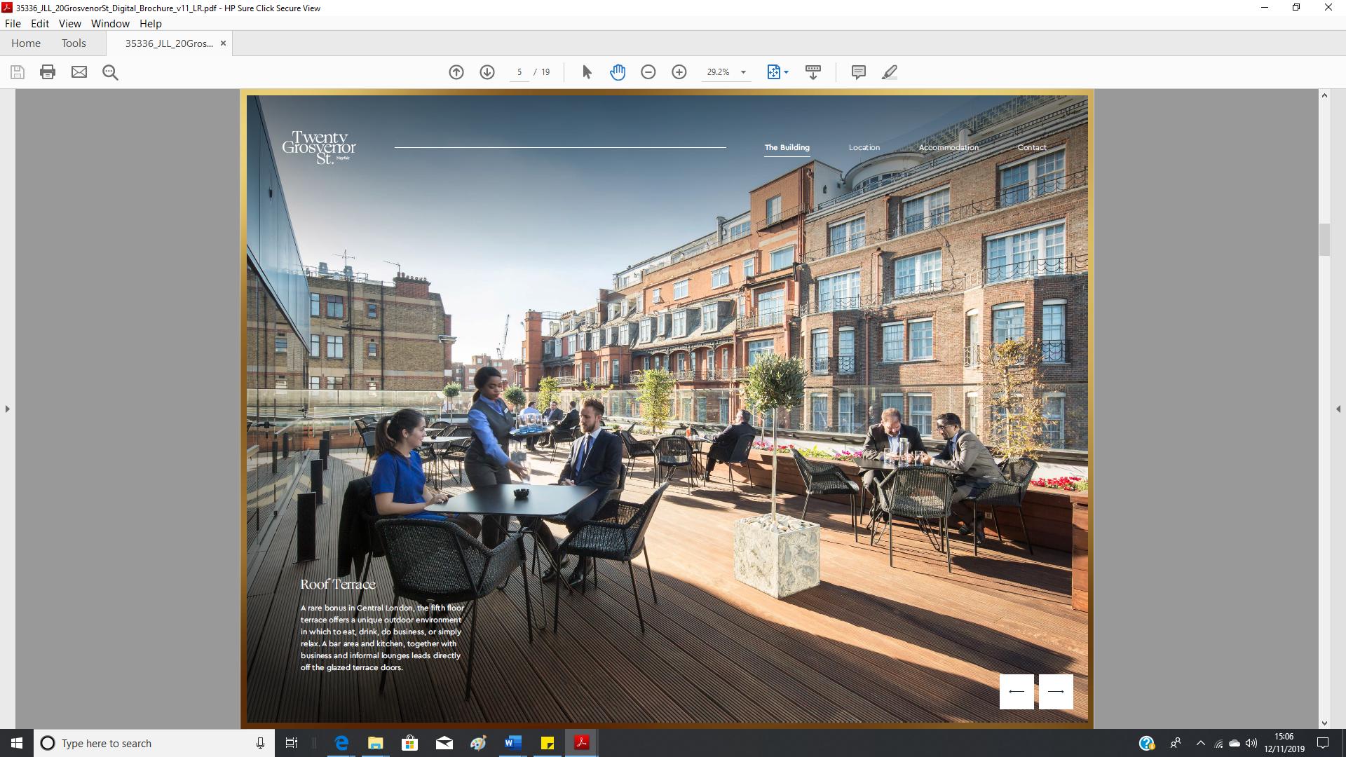 20 Grosvenor Street brochure - 3