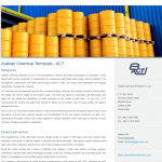 Arabian Chemical Terminals - web copy