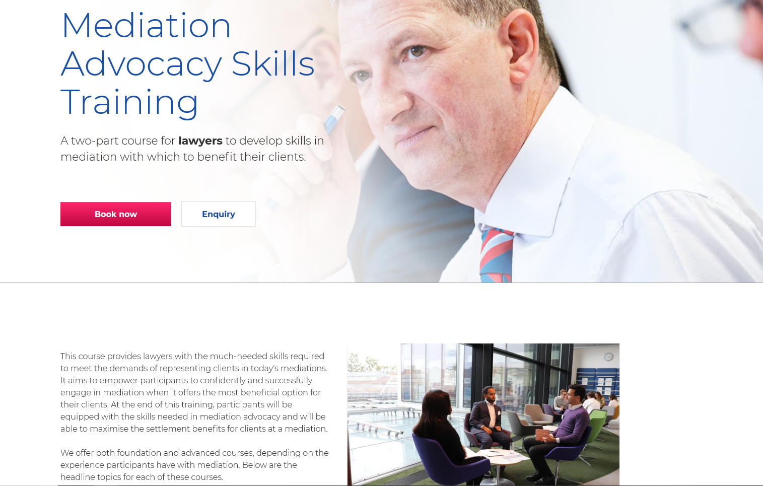 CEDR - mediation training for lawyers