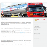Suttons Arabia Logistics - web copy