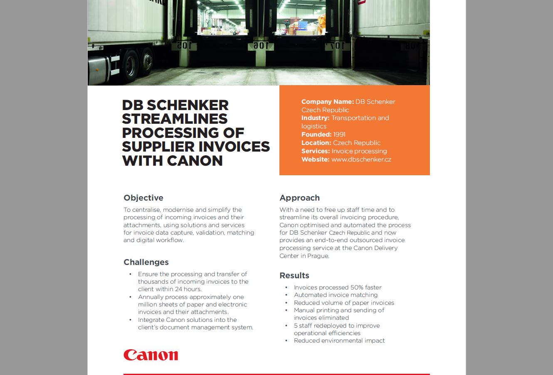 Canon Printer Case Study