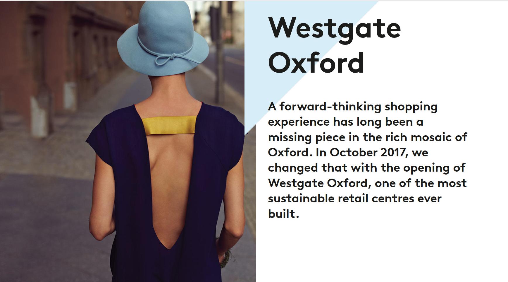 Landsec Property - Westgate Oxford