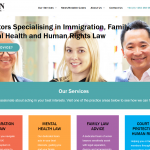 Bison Solicitors home page copy