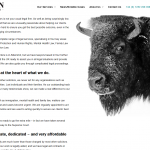 Bison Solicitors home page