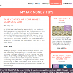 MyJar web copy