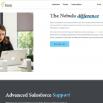 Nebula Consulting web page