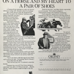 Cheaney shoes press ad