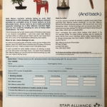Star Alliance press ad