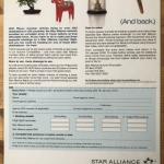 Star Alliance press ad