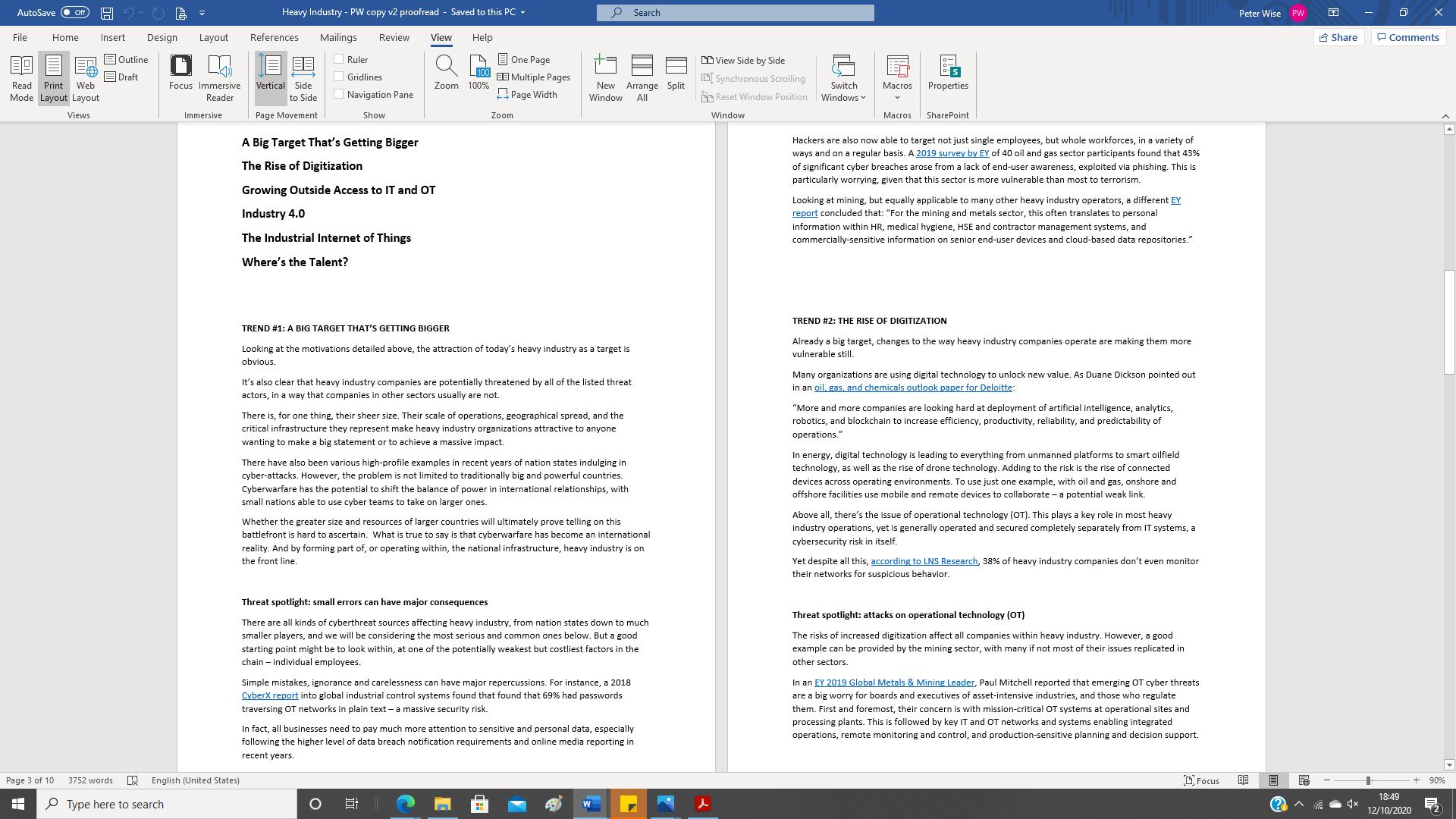 Kaspersky cybersecurity white paper