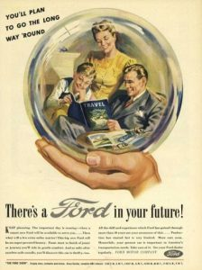 Ford advertisement from WW2